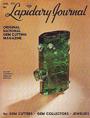 Lapidary Journal Original National Gem Cutting Magazine: Kraus, Pansy D.