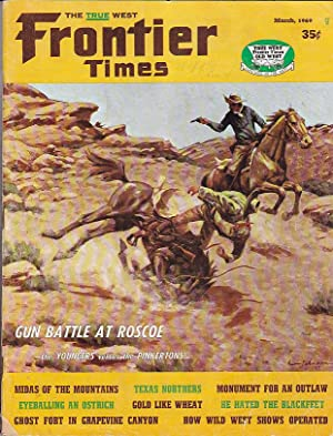 Frontier Times February-March 1969 VOl. 43, No. 2 New Series No. 58