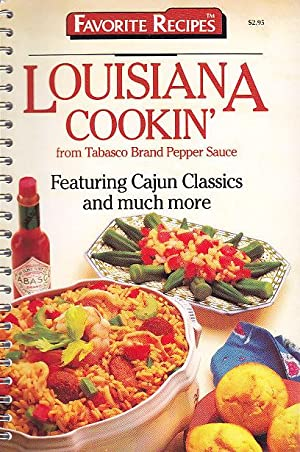Louisiana Cookin' From Tabasco Brand Pepper Sauce Featuring Cajun Classics and Much More
