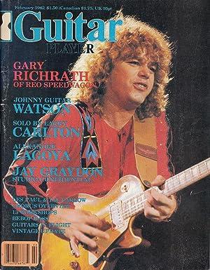 Guitar Player February 1982 Vol. 16, No. 2: Wheeler, Tom