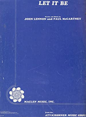 Let It Be: Lennon, John; McCartney,