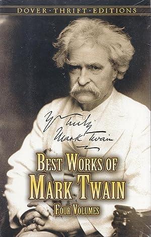 Best Works of Mark Twain: FOUR VOLUME: Twain, Mark