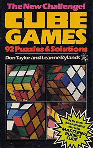 Cube Games: 92 Puzzles and Solutions