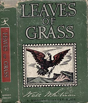 Leaves Of Grass And Selected Prose MODERN LIBRARY # 97.3