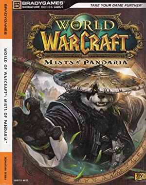World of Warcraft Mists Of Pandaria BradyGames official strategy guides Series