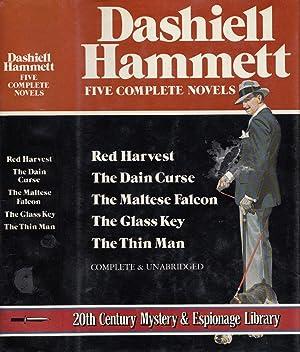 Dashiell Hammett Five Complete Novels; Red Harvest,: Hammett, Dashiell
