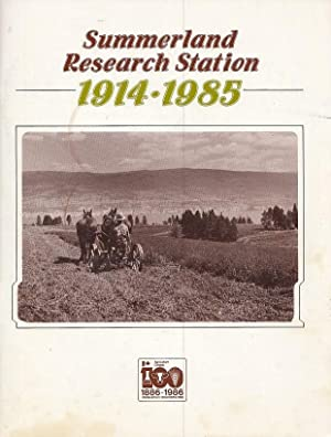 Summerland Research Station 1914-1985 Historical Series No.: Fleming, W. W.