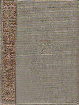 Memoirs of the Life & Writings of: Franklin, Benjamin