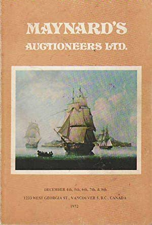 Catalogue of Antique Silver, Furniture, Porcelain Oriental: Maynard's Auctioneers Ltd.