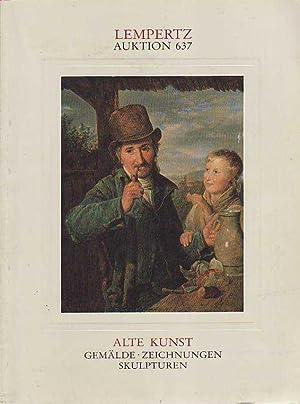 Lempertz Auktion 637 Alte Kunst Gemalde Zeichnungen: Kunsthaus Lempertz