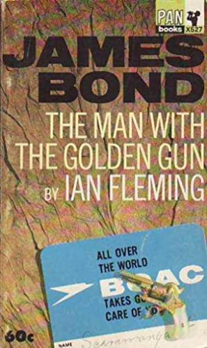 The Man with the Golden Gun James Bond PAN X527