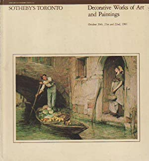 Decorative Works of Art and Paintings October 20th, 21st And 22nd, 1981 Sale 51