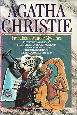 Agatha Christie: Five Classic Murder Mysteries; The Secret Adversary; The Murder of Roger Ackroyd...