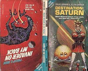 Destination Saturn; Invader on My Back: Grinnell, David; Carter,