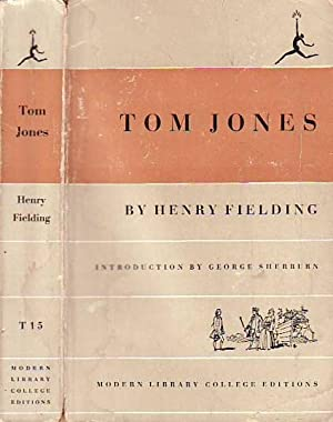 The History of Tom Jones; A Foundling MODERN LIBRARY COLLEGE EDITIONS T15