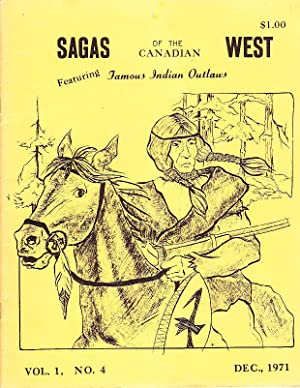 Sagas of the Canadian West Vol. 1,: Anderson, Frank W[esley]