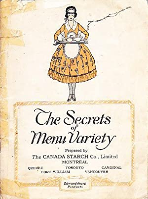 The Secrets of Menu Variety The New Edwardsburg Recipe Book