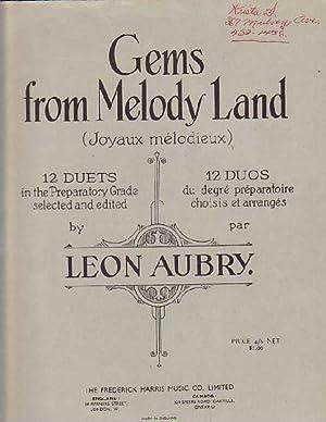 Gems from Melody Land (Joyaux melodieux): Aubry, Leon