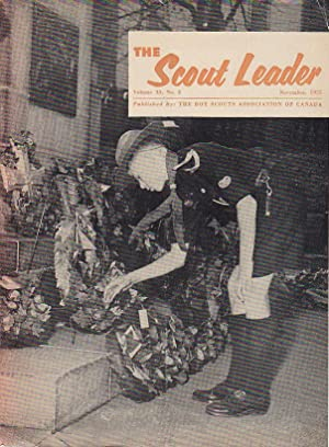 The Scout Leader Vol. 33 No. 2 November 1955