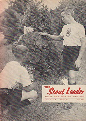 The Scout Leader Vol. 32 No. 9 June 1955