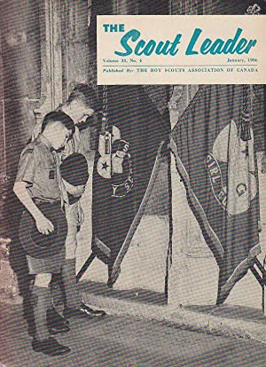 The Scout Leader Vol.33 No. 4 January 1956
