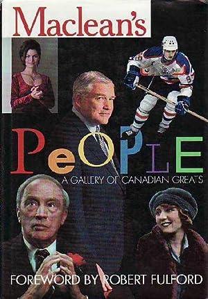 Maclean's People : A Gallery of Canadian: Various