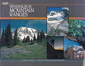 Washington Mountain Ranges Washington Geographic Series No. 1