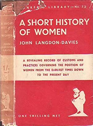 A Short History of Women THINKER'S LIBRARY # 72