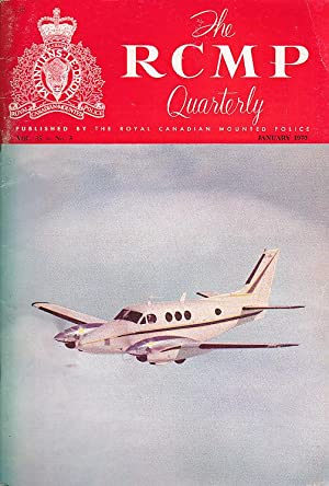 The RCMP Quarterly Vol. 35 No. 3 January 1970