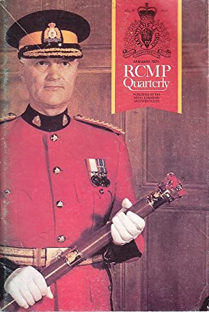 The RCMP Quarterly Vol. 36 No. 3 January 1971