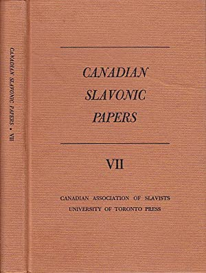 Canadian Slavonic Papers VII