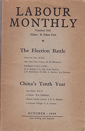 Labour Monthly Vol. XLI October 1959
