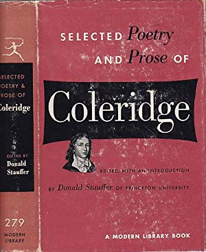 Selected Poetry and Prose of Coleridge MODERN LIBRARY # 279