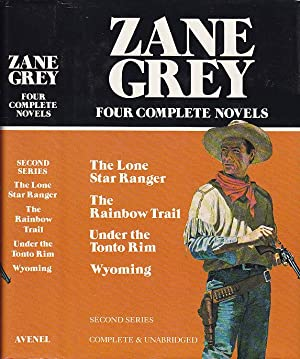 Zane Grey: Four Complete Novels; Second Series: Grey, Zane [Pearl
