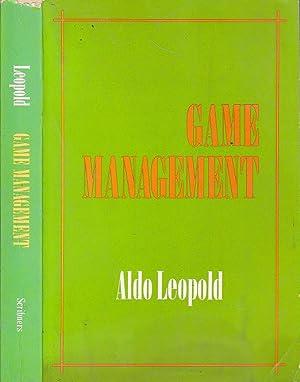 Game Management: Leopold, Aldo