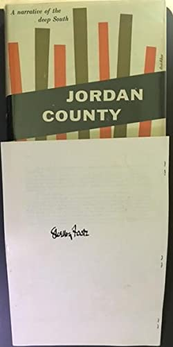 JORDAN COUNTY. A Narrative of the Deep: Foote, Shelby