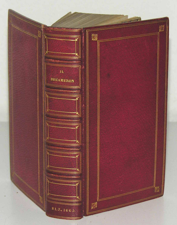 Il Decameron.: Si come lo diedro alle stampe gli SSri Giunti l'Anno 1527.: BOCCACCI(O), ...