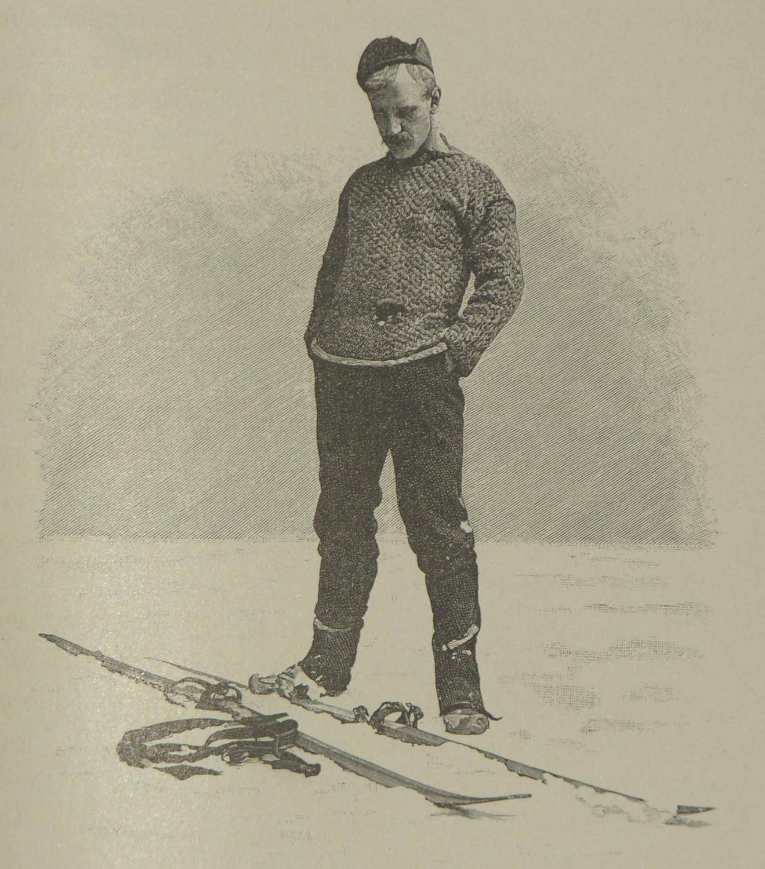 Auf Schneeschuhen durch Grönland.: Autorisirte deutsche Übersetzung von M. Mann.: NANSEN,...