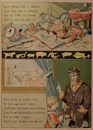 Meinen lieben Kleinen. Ein Bilderbuch von der Tante Emmy.: STRUWWELPETERIADEN - (GIEHRL), Emmy.