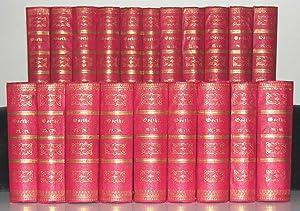 Sämmtliche Werke in vierzig Bänden. Vollständige, neugeordnete Ausgabe.: GOETHE, J. ...