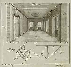 Freye Perspective, oder Anweisung, jeden perspektivischen Aufriß von freyen Stücken und ...