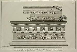 Monumenti degli Scipioni).:: PIRANESI, Francesco.