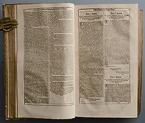 Biblia, Das ist, Die gantze Heilige Schrift Alten und Neuen Testaments, . Martin Luthers. Sodann ...