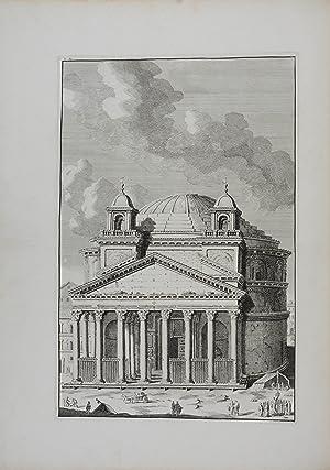 Les restes de l'ancienne Rome.: ITALIEN - OVERBEKE, Bonaventura van.
