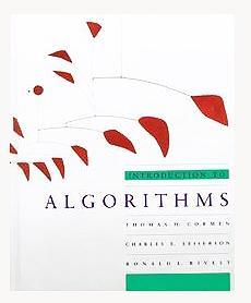 INTRODUCTION TO ALGORITHMS.: CORMEN Thomas H.,