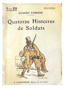 QUATORZE HISTOIRES DE SOLDATS.: FARRERE Claude