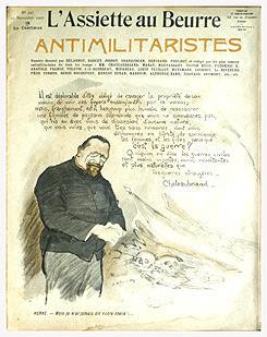 L'ASSIETTE AU BEURRE. ANTIMILITARISTES. N° 347, 23: L'ASSIETTE AU BEURRE,