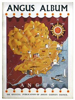 ANGUS ALBUM 1954 - The Official Publication of Angus County Council.