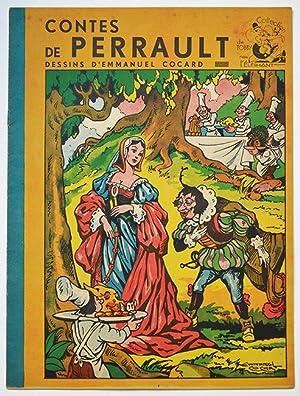 CONTES DE PERRAULT, DESSINS D'EMMANUEL COCARD. Collection: PERRAULT, COCARD Emmanuel