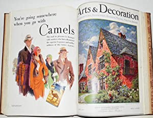 ARTS & DECORATION January - April 1930. 4 issues bound in 1 vol.